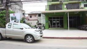 Ulicy Phuket miasteczko zbiory wideo