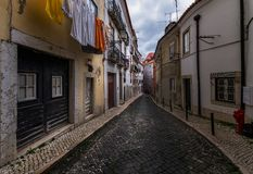 Ulicy Porto Portugalia fotografia royalty free