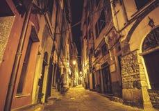 Ulicy Portovenere Włochy Obraz Stock