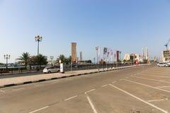 Ulicy Sharjah miasto - emiraty Zdjęcie Stock