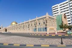 Ulicy Sharjah miasto - emiraty Fotografia Royalty Free