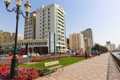 Ulicy Sharjah miasto - emiraty Zdjęcia Royalty Free