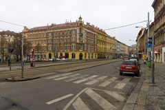 Ulicy stary Praga. Zdjęcie Royalty Free