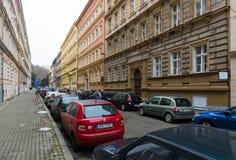 Ulicy stary Praga. Zdjęcia Stock