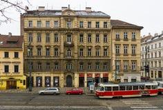 Ulicy stary Praga. Zdjęcia Royalty Free
