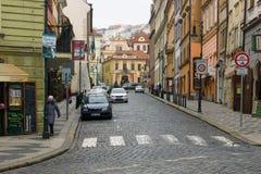 Ulicy stary Praga. Obraz Royalty Free