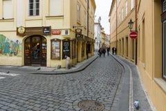 Ulicy stary Praga Fotografia Stock