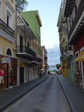 Ulicy Stary San Juan Zdjęcia Royalty Free