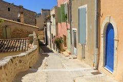 Ulicy w Provence miasteczku Zdjęcie Stock