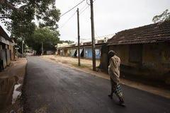 Ulicy w Thondaimanaru Sri Lanka zdjęcie stock