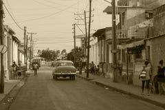 Ulicy w Trinidad istny Kuba zdjęcie stock