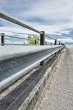 Uliczna bariera - poręczówka Obraz Royalty Free