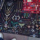 Uliczna biżuteria Obrazy Royalty Free