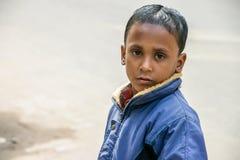 Uliczna chłopiec Zdjęcie Stock