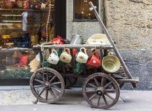 Uliczna dekoracja - Annecy Wenecki karnawał 2013 zdjęcia royalty free
