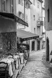 Uliczna kawiarnia w Cannes fotografia royalty free