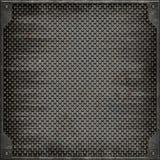 Uliczna manhole pokrywa (Bezszwowa tekstura) Fotografia Royalty Free
