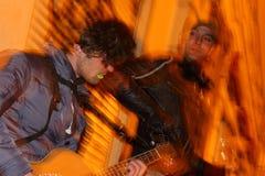 Uliczna muzyka Zdjęcie Royalty Free