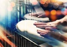 Uliczna muzyka Zdjęcie Stock
