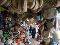 Uliczna scena Essaouira Medina, Maroko Obraz Stock