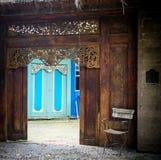 Uliczna scena w Bali, ubud, Indonesia Zdjęcie Stock