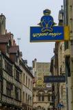 Uliczna scena w Dijon Obraz Royalty Free