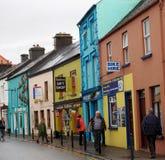 Uliczna scena W Dingle Irlandia zdjęcia royalty free