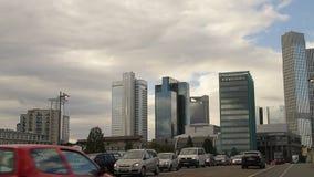 Uliczna scena w Frankfurt magistrala - Am - zbiory