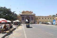 Uliczna scena w Jaipur, India zdjęcia stock