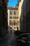 Uliczna scena w Rzym Obraz Stock