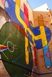 Uliczna sztuka - Barcelona Obrazy Stock