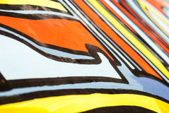 Uliczna sztuka - graffiti Obraz Royalty Free