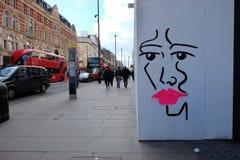 Uliczna sztuka, Londyn Fotografia Stock