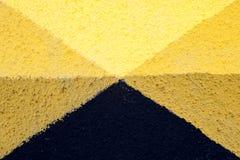 Uliczna sztuka - minimalizm Obrazy Royalty Free