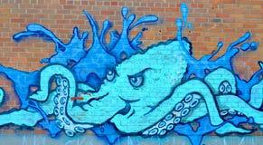 Uliczna sztuka Montreal Obrazy Royalty Free