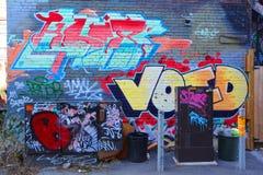 Uliczna sztuka Montreal Zdjęcie Royalty Free