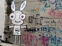Uliczna sztuka w Bratislava obraz stock