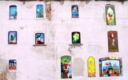 Uliczna sztuka w Bratislava zdjęcia stock