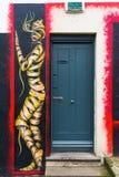 Uliczna sztuka w Londyn, UK zdjęcie stock