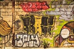 Uliczna sztuka w Panamskim mieście, Zdjęcia Royalty Free