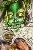 Uliczna sztuka w Panamskim mieście, Zdjęcie Royalty Free