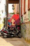 Uliczna sztuka w valparaÃso Fotografia Stock