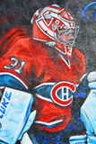 Uliczna sztuki Montreal Carey cena Zdjęcie Royalty Free