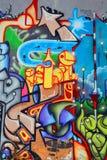 Uliczna sztuki Montreal etykietka Zdjęcia Stock