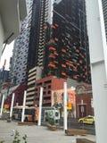 Uliczna sztuki scena w Melbourne Obrazy Stock