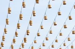 uliczne dekoracyjne lampy zdjęcie royalty free