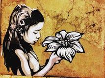 Uliczne grafitowe sztuki obrazy stock