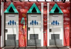 Uliczne Jawne toalety obrazy royalty free
