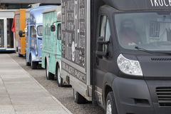Uliczne jedzenie ciężarówki Fotografia Stock