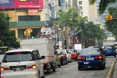 Uliczne sceny Kuala Lumpur, Malezja Obrazy Stock